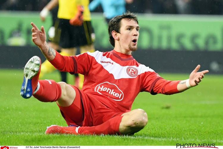 UPDATE !  Benito Raman quitte le Fortuna Düsseldorf