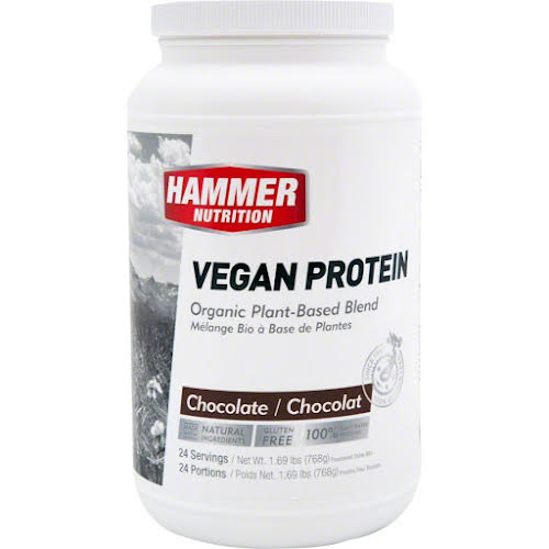 Hammer Nutrition Vegan Protein Mix: Chocolate 24 Servings