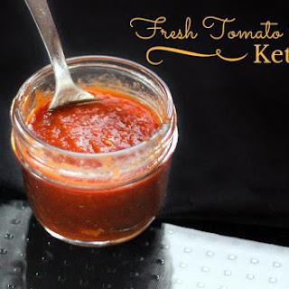 Fresh Tomato Paleo Ketchup