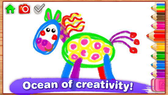 Children Coloring Games for kids! Preschool games – Android Apps ...