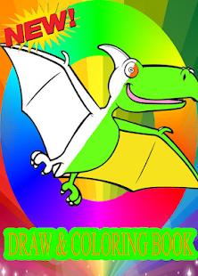 Draw Coloring 3d Cute Magic Dinosaurs Dragons Aplikacie V