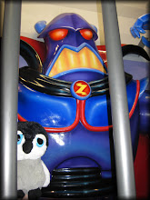 Photo: Carlisle helped to defeat the evil emperor Zurg!