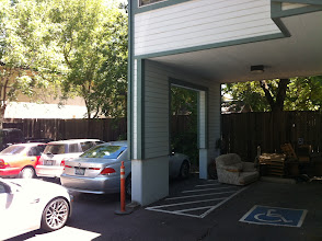 Photo: 1 handicap parking space (covered)