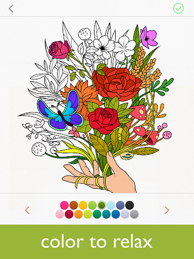 Colorfy: Coloring Book for Adults - Free screenshot 6