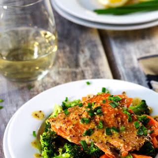 Miso - Dijon Glazed Salmon