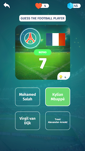 Football Quiz - Guess players, clubs, leagues screenshots 3