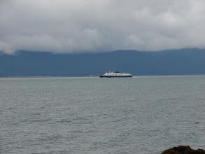 Photo: The Alaska Ferry heading south down Lynn Canal.