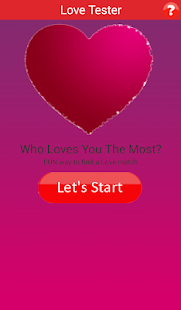 Who Loves You? - Love Tester - náhled