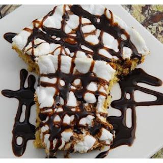 Chocolate Chip Peanut Butter Mallow Bars