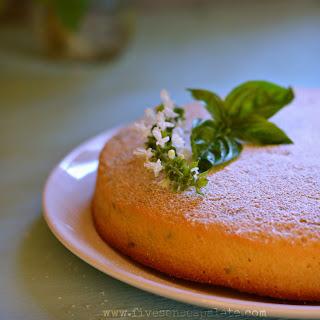 Olive Oil Basil & Lemon Breakfast Cake