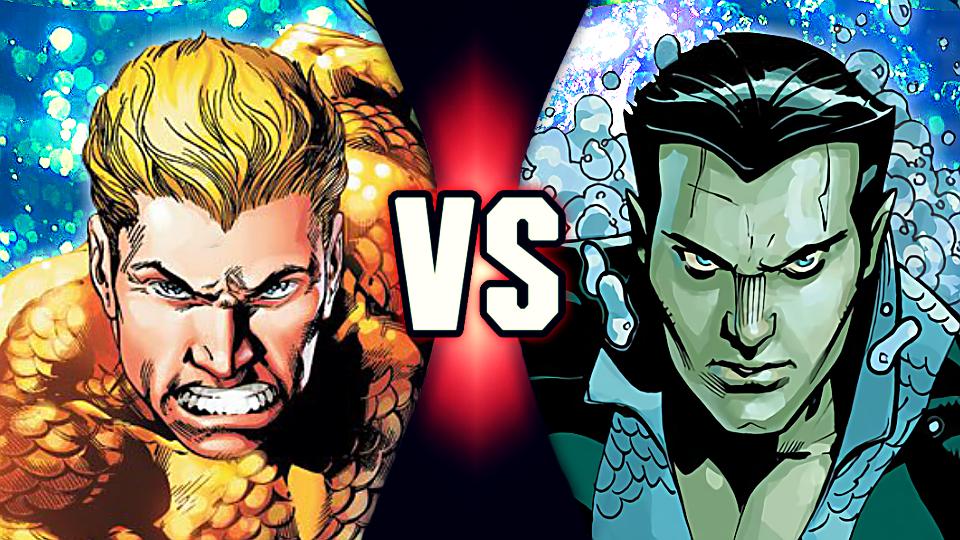 G1 Death Battle Fan Blogs Death Battle Predictions Aquaman Vs Namor