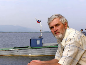 Photo: На пароме. Река Баргузин.