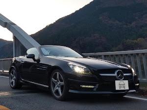 SLK R172 SLK200 Blue Efficiency AMGスポーツパッケージ 2014年式のカスタム事例画像 もり〜さんの2018年11月18日11:47の投稿