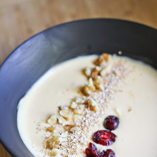 Pumpkin Yogurt with Popped Amaranth