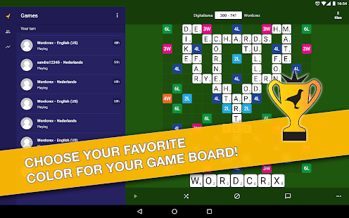 WordCrex: The fair word game- screenshot thumbnail