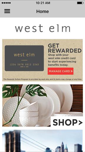 west elm card