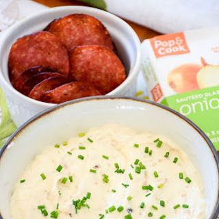 Quick and Easy Caramelized Onion Dip.