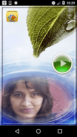 android Water Photo Frames Screenshot 0