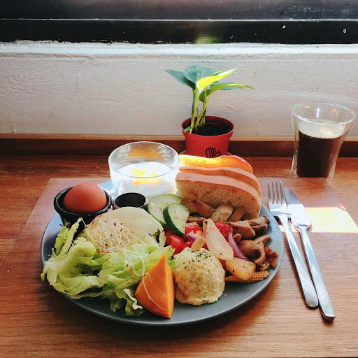 草食系素人早餐 有滿滿的蔬菜 非常喜歡