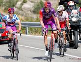 Angel Madrazo werd aangetikt door zijn eigen volgwagen en won vervolgens toch de etappe