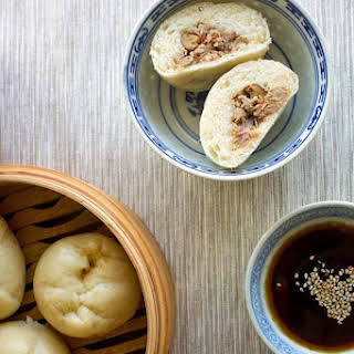 Baozi (Steamed Pork Buns).