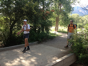 Photo: Finishing at the South Mesa Trailhead after about 71 elapsed hours.