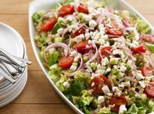 Mediterranean Quinoa Salad Recipe Just A Pinch Recipes