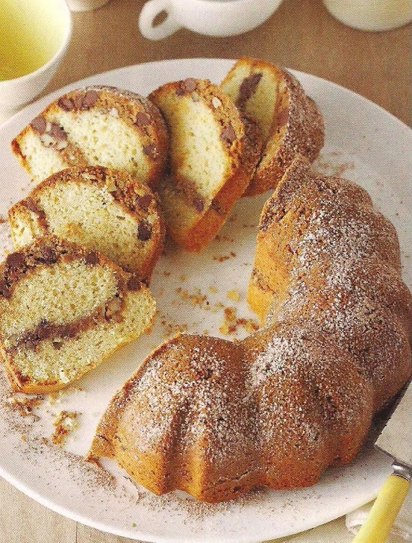 Coconut Pecan Coffee Cake Recipe