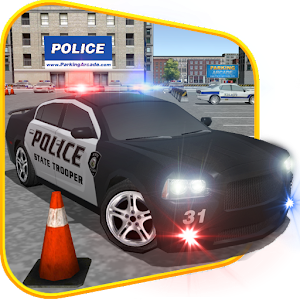3D Police Car Parking 2015 for PC and MAC