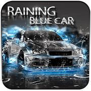 App Raining Blue Car APK for Windows Phone