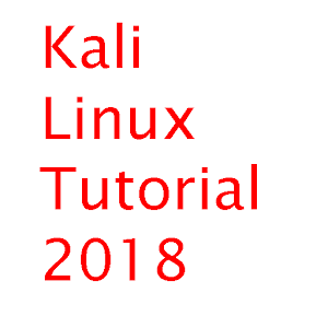learn kali linux 2018