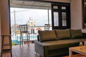 Photo: Living Room and Balcony