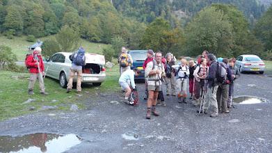 Photo: Le groupe est prêt au départ