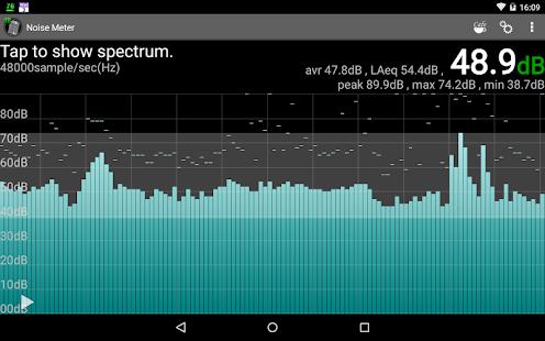 Noise Meter- screenshot thumbnail