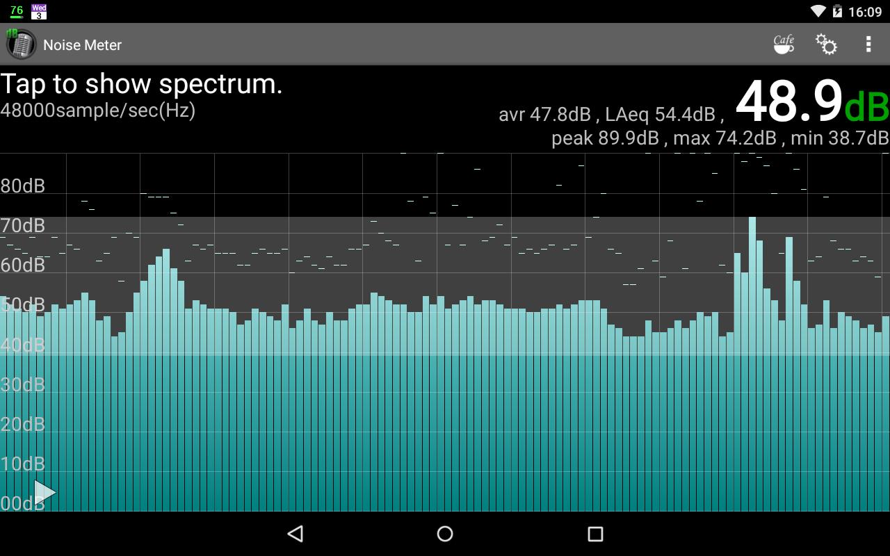 Noise Meter - screenshot