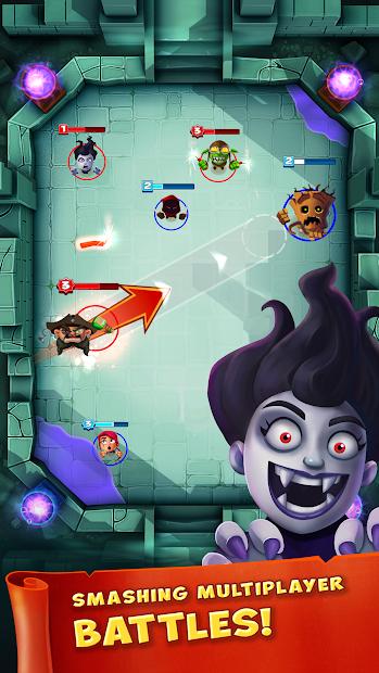 Smashing Four Android App Screenshot