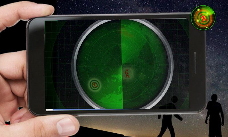 android Radar Scanner 3d Sim Prank Screenshot 4