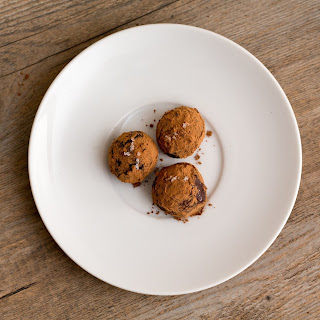 Salted Honey Truffles