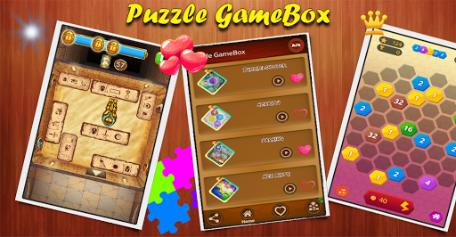 Puzzle GameBox (classic puzzles In One App)  screenshots 1