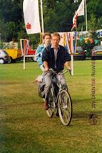 Photo: Jan Oosting en Sjouke Liefhebber, 27e Drentse Rijwielvierdaagse