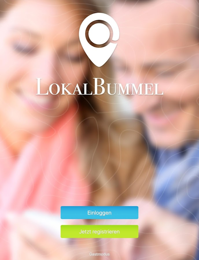 LokalBummel- screenshot