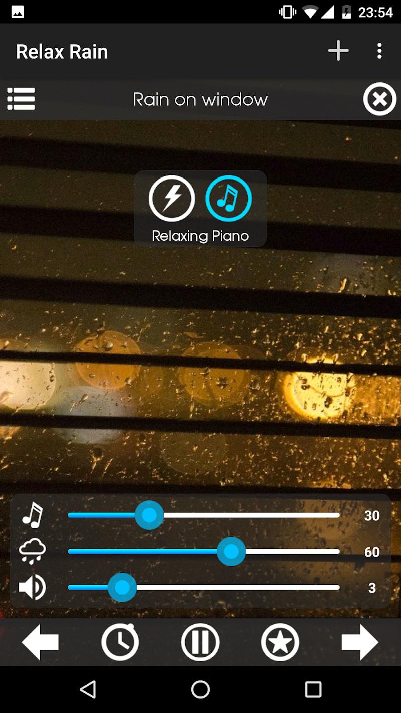 Relax Rain ~ Rain Sounds Screenshot 6