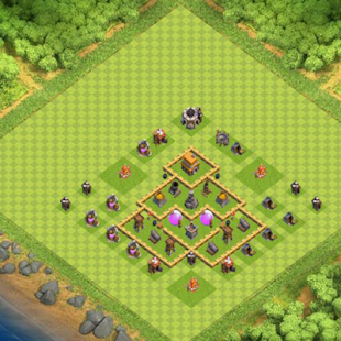 Farming Base Maps Town Hall 5 - náhled