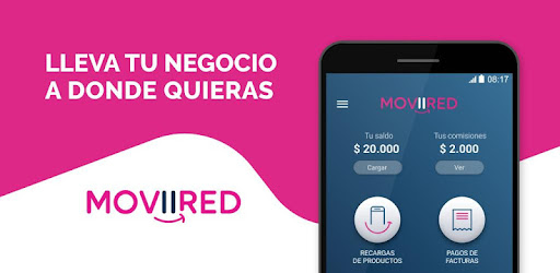 Sell ​​content, cell refills and bill payment from your app MOViiRED