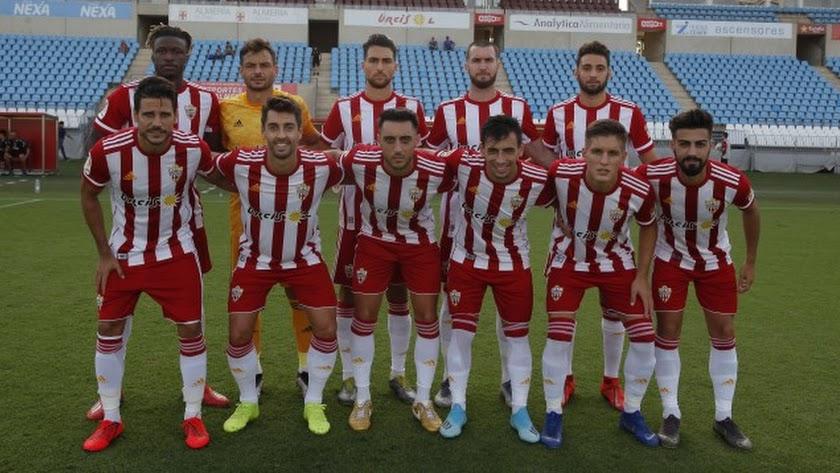 El once del Almería.