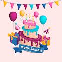 Happy Birthday Wishes-Birthday Song, Birthday Cake icon