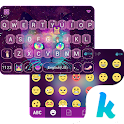 Galaxy Cat Emoji Kika Keyboard icon