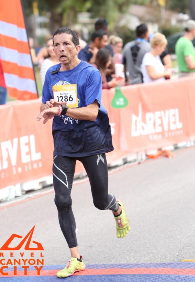Canyon City Marathon Finish