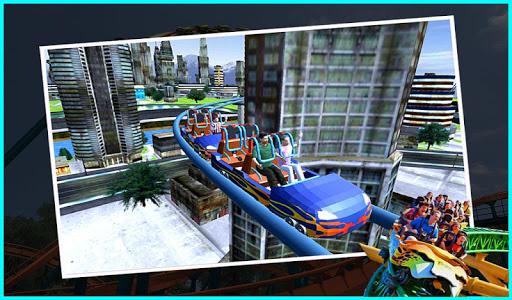 Crazy Roller Coaster Riding 2018  screenshots 3