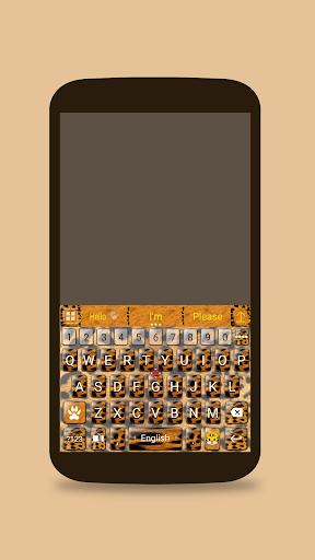 ai.keyboard Tiger theme